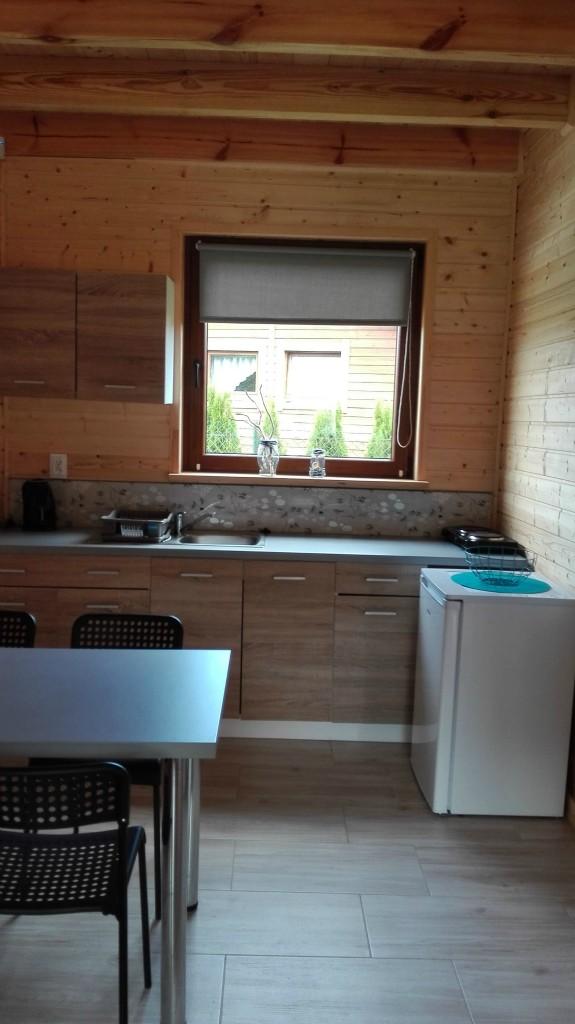 NEMO - aneks kuchenny w domku przystosowanym dla osób z dysfunkcją ruchową